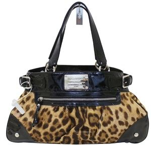 DOLCE & GABBANA Ponyhair Miss Silky Shoulder Bag